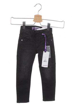 Детски дънки Raizzed, Размер 18-24m/ 86-98 см, Цвят Сив, 97% памук, 3% еластан, Цена 12,25лв.