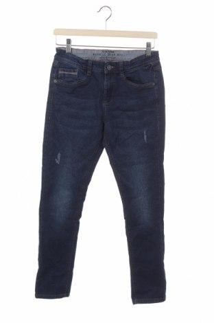 Blugi pentru copii S.Oliver, Mărime 14-15y/ 168-170 cm, Culoare Albastru, 80% bumbac, 18% poliester, 2% elastan, Preț 62,67 Lei