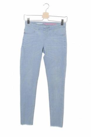 Детски дънки Vingino, Размер 15-18y/ 170-176 см, Цвят Син, 65% памук, 28% полиестер, 7% еластан, Цена 24,32лв.