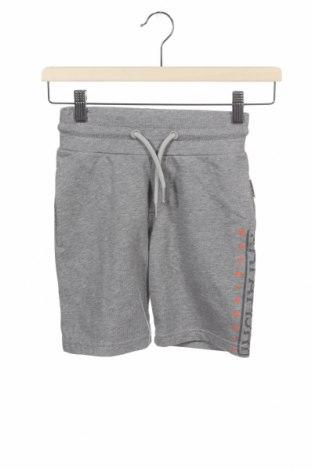Pantaloni scurți pentru copii Napapijri, Mărime 7-8y/ 128-134 cm, Culoare Gri, Bumbac, Preț 68,09 Lei