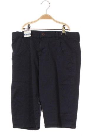 Pantaloni scurți pentru copii Tom Tailor, Mărime 15-18y/ 170-176 cm, Culoare Albastru, 98% bumbac, 2% elastan, Preț 35,92 Lei