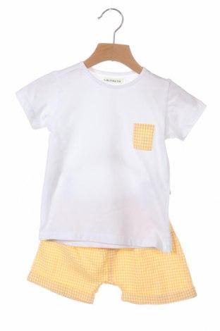 Детски комплект Lola Palacios, Размер 18-24m/ 86-98 см, Цвят Бял, Памук, еластан, полиестер, Цена 42,00лв.