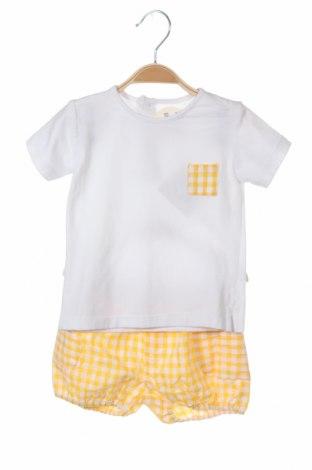 Детски комплект Lola Palacios, Размер 9-12m/ 74-80 см, Цвят Бял, Цена 12,96лв.