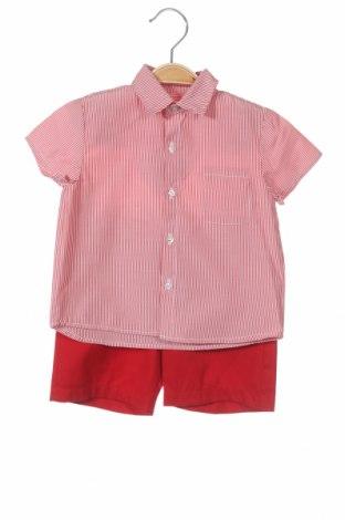 Детски комплект Lola Palacios, Размер 2-3y/ 98-104 см, Цвят Червен, 60% памук, 40% полиестер, Цена 15,36лв.