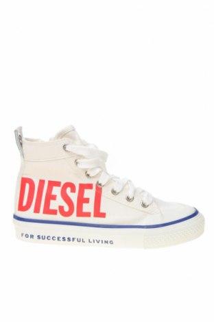 Obuwie dziecięce Diesel, Rozmiar 31, Kolor Biały, Materiał tekstylny, Cena 186,82zł