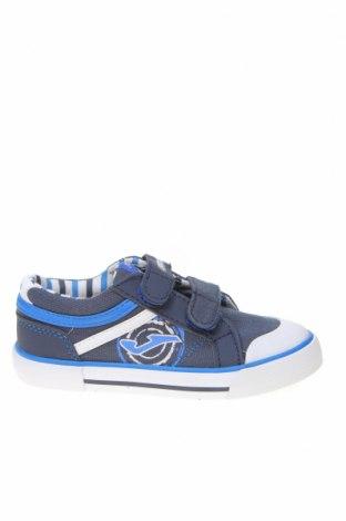 Παιδικά παπούτσια Joma, Μέγεθος 26, Χρώμα Μπλέ, Κλωστοϋφαντουργικά προϊόντα, δερματίνη, Τιμή 21,44€