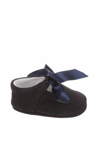 Детски обувки Lola Palacios, Размер 16, Цвят Черен, Естествен велур, Цена 14,75лв.