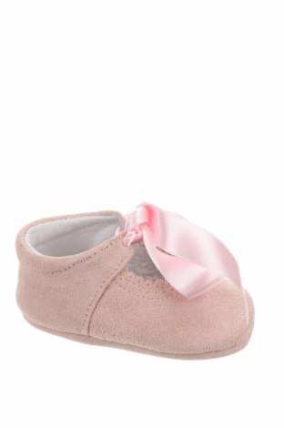 Детски обувки Lola Palacios, Размер 16, Цвят Розов, Естествен велур, Цена 13,00лв.