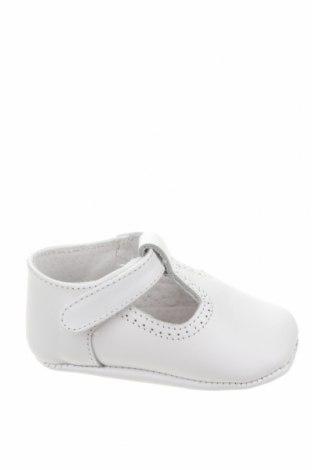 Детски обувки Lola Palacios, Размер 16, Цвят Бял, Естествена кожа, Цена 13,00лв.