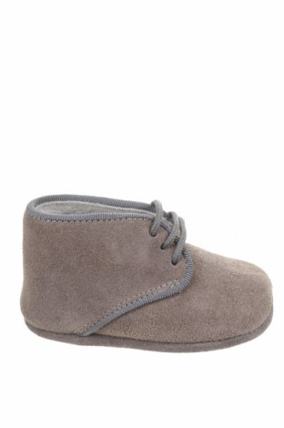 Детски обувки Lola Palacios, Размер 16, Цвят Сив, Естествен велур, Цена 11,80лв.