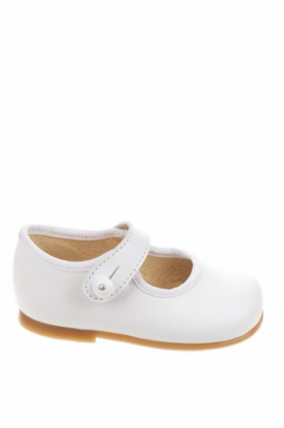 Детски обувки Lola Palacios, Размер 19, Цвят Бял, Естествена кожа, Цена 17,25лв.