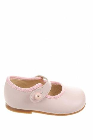 Детски обувки Lola Palacios, Размер 19, Цвят Розов, Естествена кожа, Цена 17,25лв.