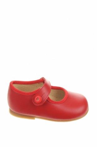 Детски обувки Lola Palacios, Размер 19, Цвят Червен, Естествена кожа, Цена 17,25лв.