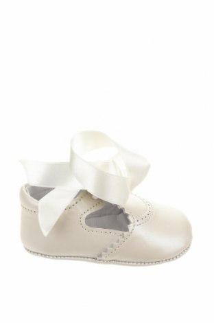 Παιδικά παπούτσια Lola Palacios, Μέγεθος 16, Χρώμα Λευκό, Γνήσιο δέρμα, Τιμή 5,36€