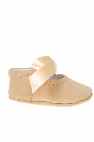 Παιδικά παπούτσια Lola Palacios, Μέγεθος 16, Χρώμα  Μπέζ, Φυσικό σουέτ, Τιμή 5,47€