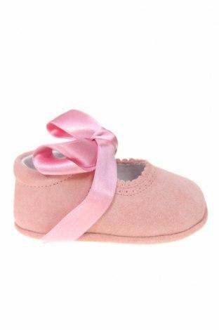Παιδικά παπούτσια Lola Palacios, Μέγεθος 16, Χρώμα Ρόζ , Φυσικό σουέτ, Τιμή 5,47€