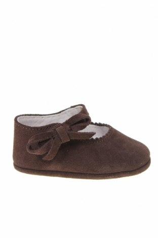 Παιδικά παπούτσια Lola Palacios, Μέγεθος 16, Χρώμα Καφέ, Φυσικό σουέτ, Τιμή 5,47€