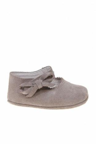 Детски обувки Lola Palacios, Размер 16, Цвят Сив, Естествен велур, Цена 14,75лв.