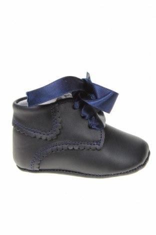 Детски обувки Lola Palacios, Размер 16, Цвят Син, Естествена кожа, Цена 14,75лв.