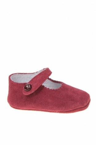Детски обувки Lola Palacios, Размер 16, Цвят Лилав, Естествен велур, Цена 14,75лв.