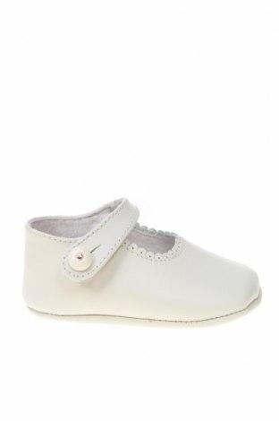 Παιδικά παπούτσια Lola Palacios, Μέγεθος 16, Χρώμα Λευκό, Γνήσιο δέρμα, Τιμή 5,47€