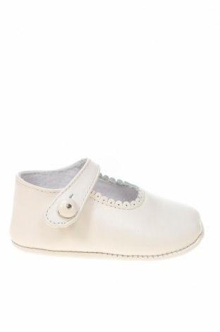 Детски обувки Lola Palacios, Размер 16, Цвят Бял, Естествена кожа, Цена 14,75лв.