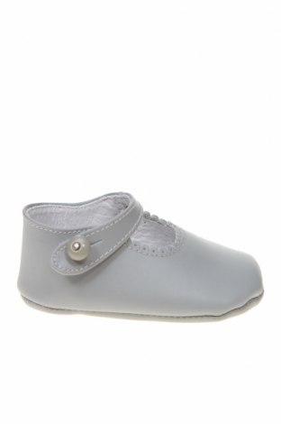 Детски обувки Lola Palacios, Размер 16, Цвят Сив, Естествена кожа, Цена 14,75лв.