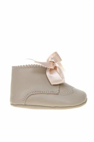 Детски обувки Lola Palacios, Размер 16, Цвят Сив, Естествена кожа, Цена 13,00лв.