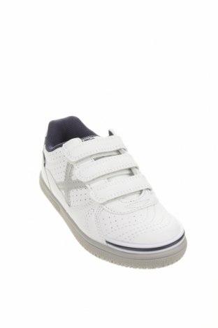 Παιδικά παπούτσια Munich, Μέγεθος 29, Χρώμα Λευκό, Κλωστοϋφαντουργικά προϊόντα, Τιμή 24,33€