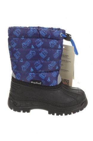 Детски обувки Playshoes, Размер 22, Цвят Син, Полиуретан, текстил, Цена 64,35лв.