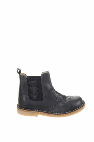 Детски обувки Pom Pom, Размер 31, Цвят Син, Естествена кожа, Цена 66,75лв.