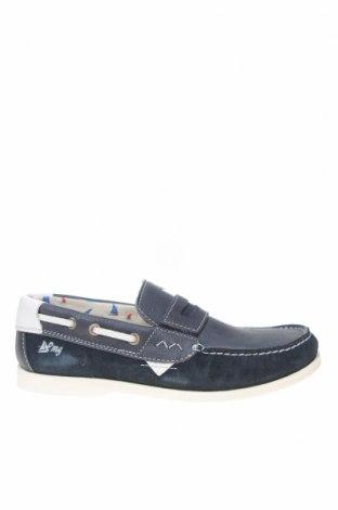 Детски обувки Primigi, Размер 36, Цвят Син, Естествена кожа, естествен велур, Цена 38,15лв.