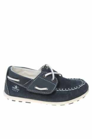 Детски обувки Primigi, Размер 25, Цвят Син, Естествен велур, Цена 31,16лв.