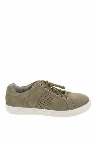 Детски обувки Richter, Размер 37, Цвят Зелен, Естествен велур, Цена 46,20лв.