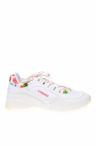 Детски обувки Vingino, Размер 38, Цвят Бял, Естествена кожа, еко кожа, Цена 48,72лв.