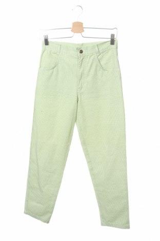 Παιδικό παντελόνι, Μέγεθος 12-13y/ 158-164 εκ., Χρώμα Πράσινο, Βαμβάκι, Τιμή 9,74€