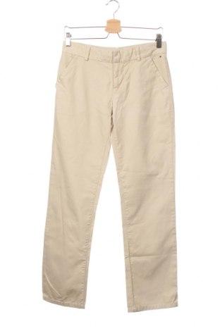 Детски панталон Tommy Hilfiger, Размер 12-13y/ 158-164 см, Цвят Бежов, Памук, Цена 11,03лв.