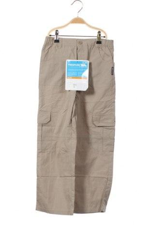 Детски панталон Trespass, Размер 6-7y/ 122-128 см, Цвят Бежов, 70% памук, 30% полиамид, Цена 14,75лв.