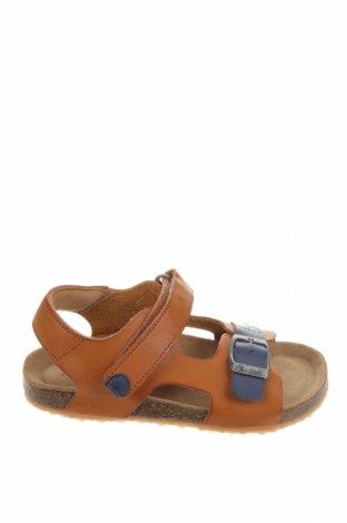 Детски сандали Kickers, Размер 30, Цвят Кафяв, Еко кожа, Цена 20,88лв.