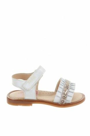 Детски сандали Pablosky, Размер 21, Цвят Бял, Естествена кожа, Цена 22,25лв.