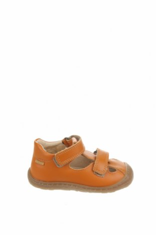 Детски сандали Primigi, Размер 22, Цвят Оранжев, Естествена кожа, Цена 24,49лв.