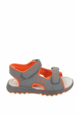 Детски сандали Richter, Размер 27, Цвят Сив, Еко кожа, Цена 44,25лв.