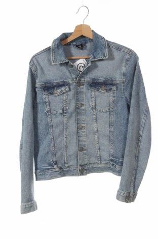Παιδικό τζίν μπουφάν H&M, Μέγεθος 12-13y/ 158-164 εκ., Χρώμα Μπλέ, 99% βαμβάκι, 1% ελαστάνη, Τιμή 10,91€