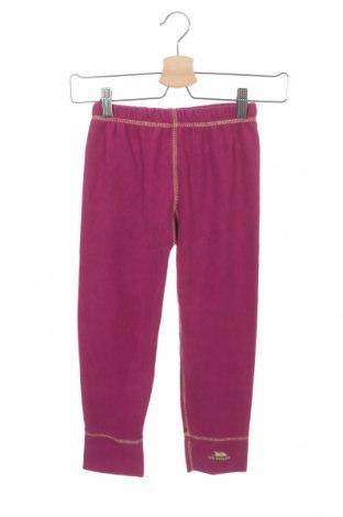 Детско поларено долнище Trespass, Размер 6-7y/ 122-128 см, Цвят Розов, Полиестер, Цена 12,60лв.