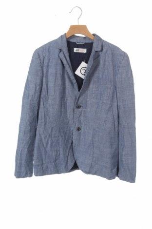 Παιδικό σακάκι H&M, Μέγεθος 11-12y/ 152-158 εκ., Χρώμα Μπλέ, Βαμβάκι, Τιμή 8,18€