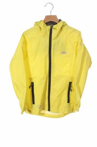 Детско спортно яке Trespass, Размер 6-7y/ 122-128 см, Цвят Жълт, Полиамид, Цена 18,17лв.