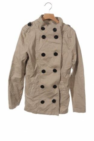 Παιδικό μπουφάν H&M, Μέγεθος 12-13y/ 158-164 εκ., Χρώμα  Μπέζ, 98% βαμβάκι, 2% ελαστάνη, Τιμή 16,76€