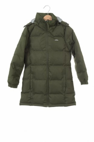 Детско яке Trespass, Размер 4-5y/ 110-116 см, Цвят Зелен, Полиестер, Цена 35,70лв.