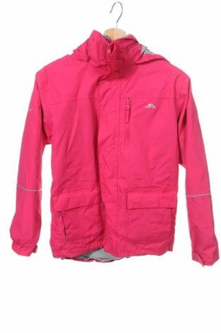 Детско яке за зимни спортове Trespass, Размер 10-11y/ 146-152 см, Цвят Розов, Полиамид, Цена 43,40лв.