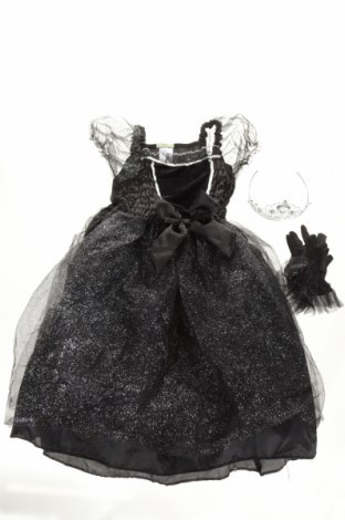 Costum de carnaval Vertbaudet, Mărime 6-7y/ 122-128 cm, Culoare Negru, Poliester, Preț 135,86 Lei